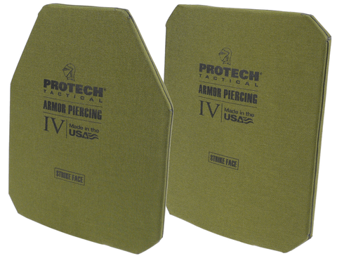 Protech Tactical 2115G Level IV Stand-Alone Armor Plate 10X12