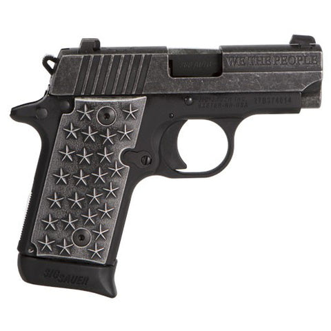 "Sig Sauer P238 .380acp ""We the People"" 7-Rd"
