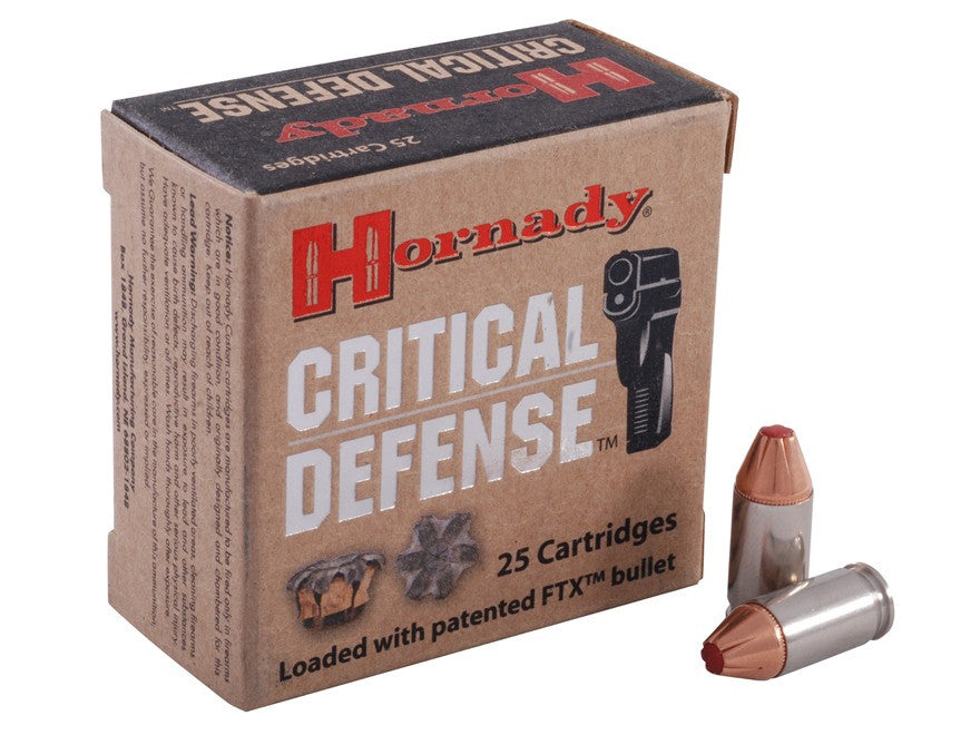 Hornady 380acp 90gr Flex Tip Critical Defense
