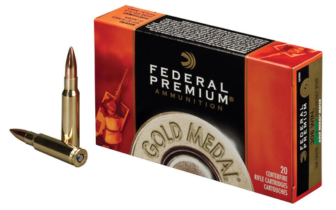 Federal Gold Medal Match .308 WIN 168gr BTHP