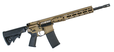 "LWRCI DI 5.56 NATO/.223 Rifle 16"" Burnt Bronze Finish"