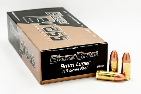 Blazer Brass 9mm FMJ
