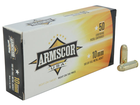 Armscor 10mm 180gr FMJ