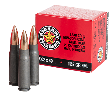 Century Arms Red Army Standard 7.62x39 122gr FMJ