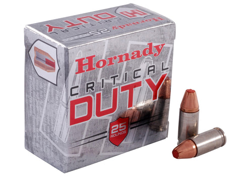 Hornady 9mm +P 135gr FlexLock Critical Duty 25rds