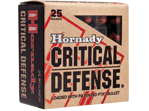 Hornady 9mm 115gr Flex Tip Critical Defense