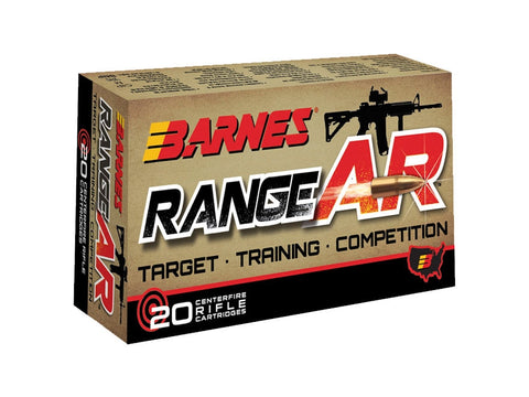 Barnes RangeAR 300 AAC Blackout 90gr