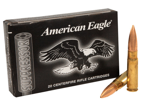 Federal American Eagle Suppressor 300 AAC Blackout Subsonic 220gr OTM