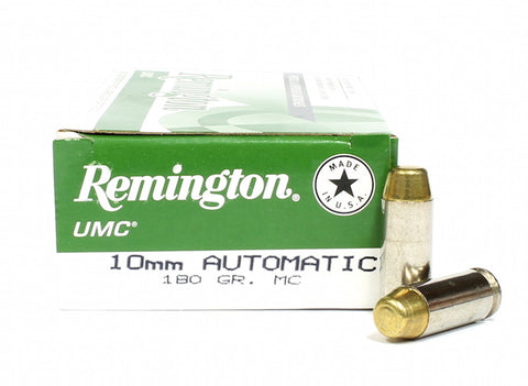 Remington UMC 10mm 180gr FMJ