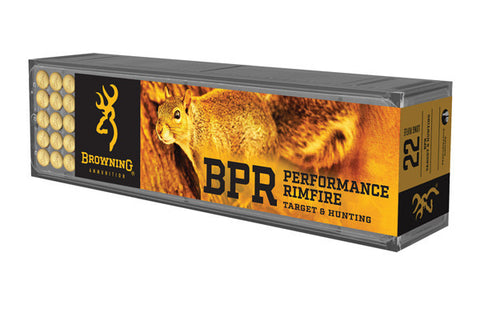 Browning 22LR 40 Grain High-Velocity Hollow Point