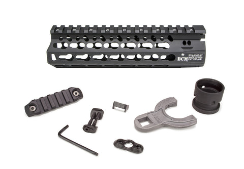 BCM KMR Alpha KeyMod Free Floating Handguards