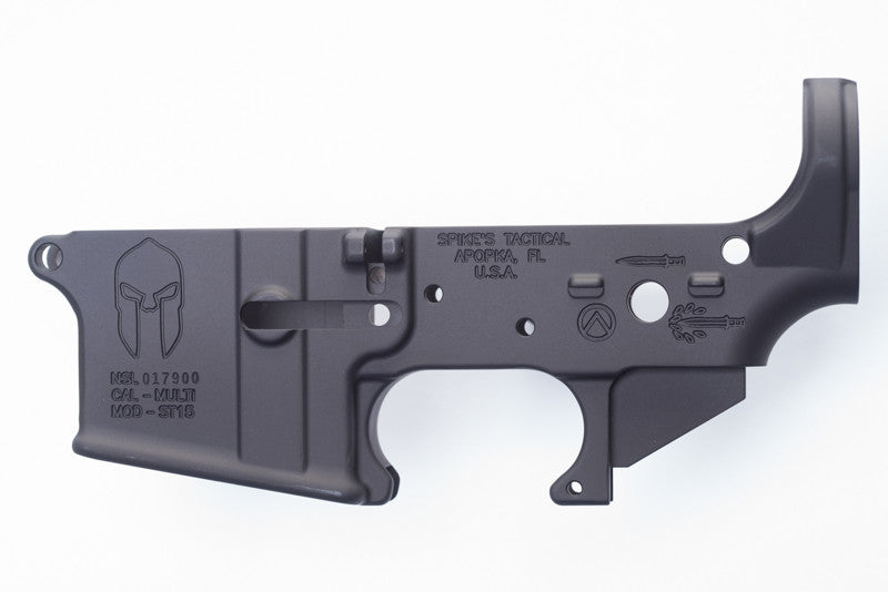 Spike's Tactical AR15 Spartan Stripped Lower Receiver