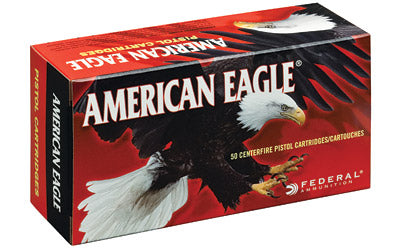 Federal American Eagle 9mm Luger Ammo FMJ