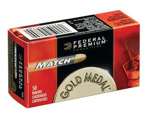 Federal Premium Match 22LR 40 Grain Lead Round Nose