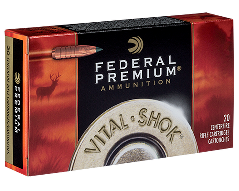 Federal Premium 270WIN 130gr Vital Shok Trophy Copper