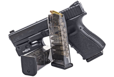 ETS Group Translucent Glock Magazines 9mm