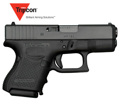 Glock 27 40 S&W Subcompact (Baby Glock) Gen 4 w/Trijicon Night Sights