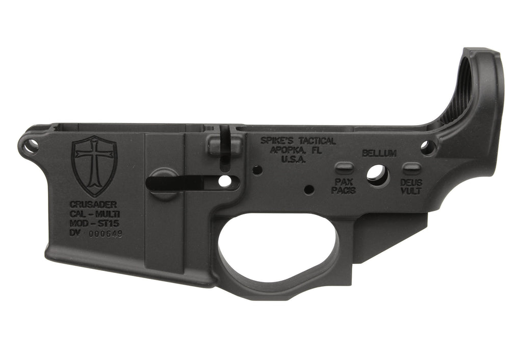Spike's Tactical AR15 Crusader Stripped Lower Receiver