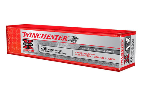 Winchester 22LR 40 Grain Hyper Speed Hollow Points