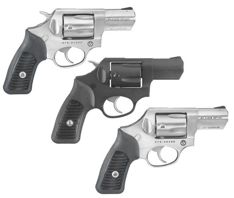 "Ruger SP101 .357 Magnum Spurless Hammer 2.25"" Barrel"