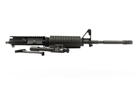 "Aero Precision AR15 Complete Upper, 16"" 5.56 Carbine Barrel w/ Pinned FSB, M4 Handguard (Includes BCG & CH)"