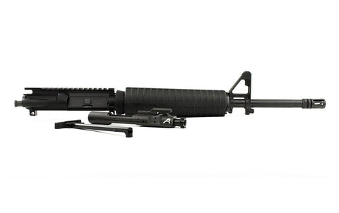 "Aero Precision AR15 Complete Upper, 16"" 5.56 Mid-Length Barrel w/ Pinned FSB, M4 Handguard (Includes BCG & CH)"
