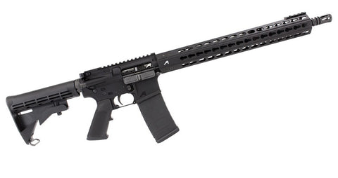 "Aero Precision AR15 Complete Rifle w/ 16"" 5.56 CMV Mid-Length Barrel and 15"" Quantum Handguard"