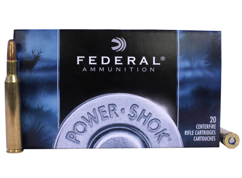 Federal PowerShok 270WIN 150gr Soft Point Round Nose