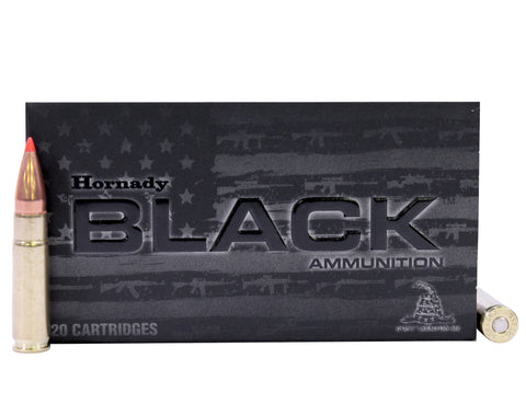 Hornady 300 Blackout 208gr A-MAX Black Subsonic