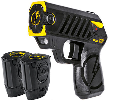 Taser Pulse w/Laser, LED, 2 Live-Cartridges