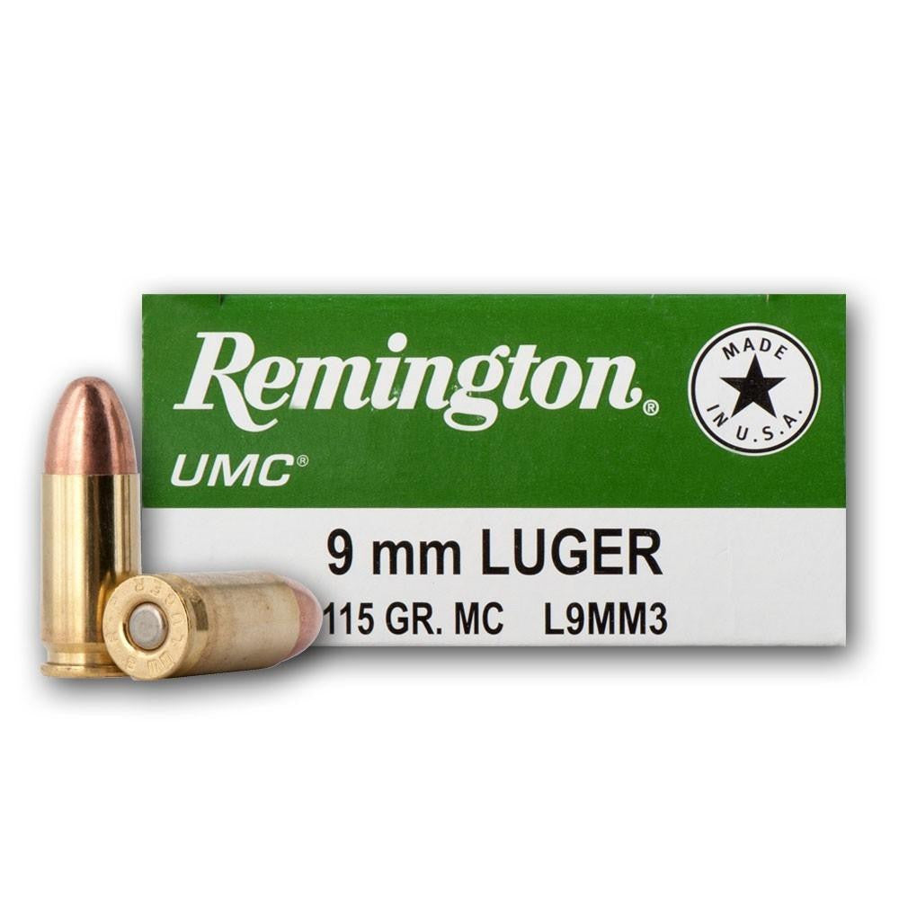 Remington UMC 9mm FMJ