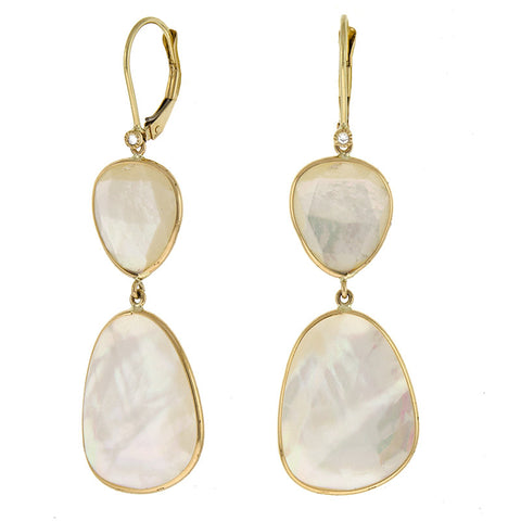 43cb2a66b Mother-of-Pearl Shell Earrings – Golden Tree Collection