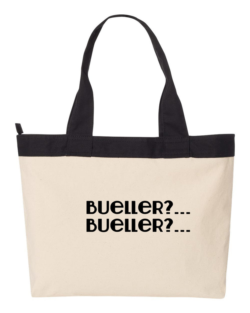 Bueller, Bueller Tote Bag, Carryall, Tote Bag, Market, Diaper Bag, Gym Bag, Beach Bag