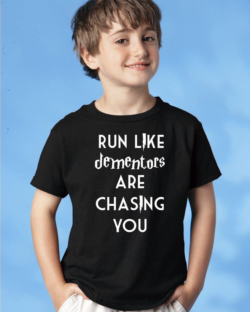 Run Like Dementors Are Chasing You Bodysuit and Youth Shirt
