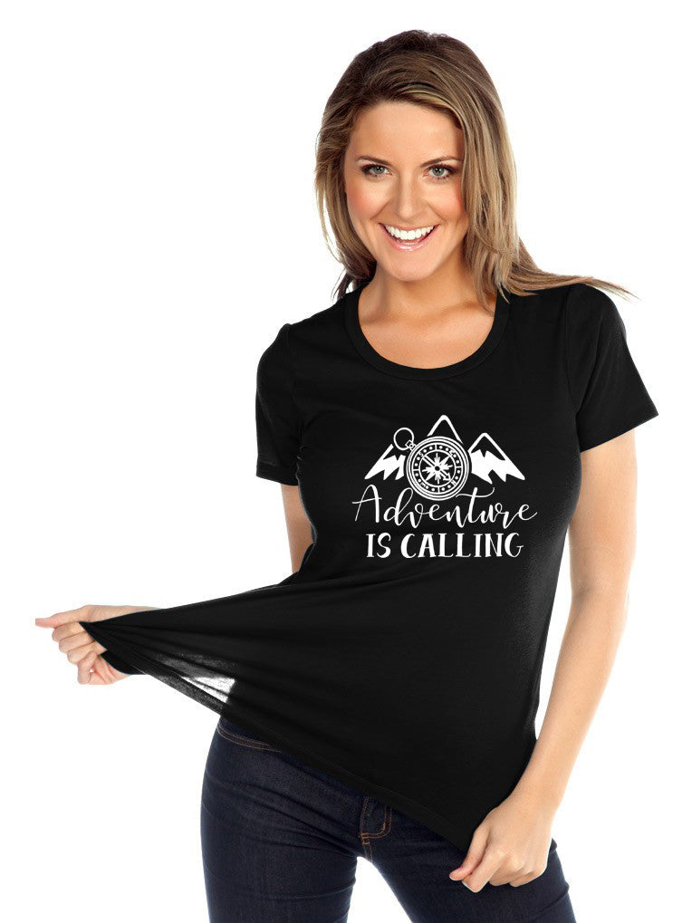 Adventure is Calling Adult Shirts