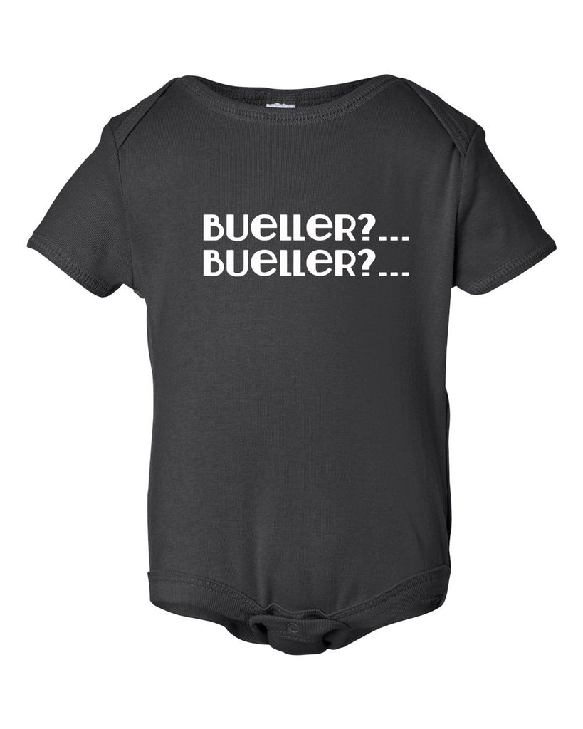 Bueller, Bueller Bodysuit and Youth Shirt