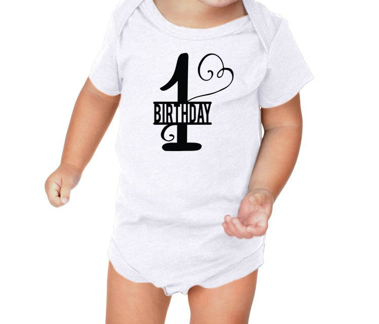 Ist Birthday Bodysuit and Youth Shirt