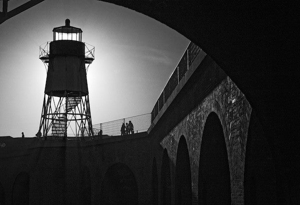 Fort Point Tower (Silhouette)