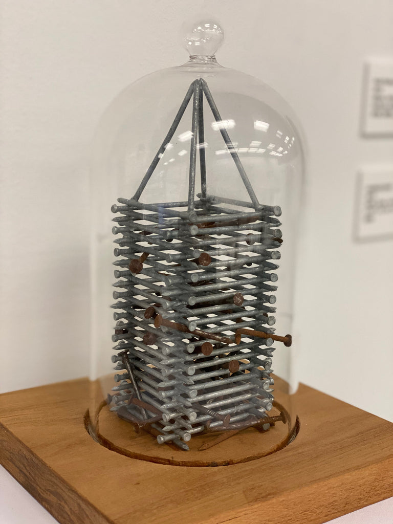 Untitled (Nail Tower)