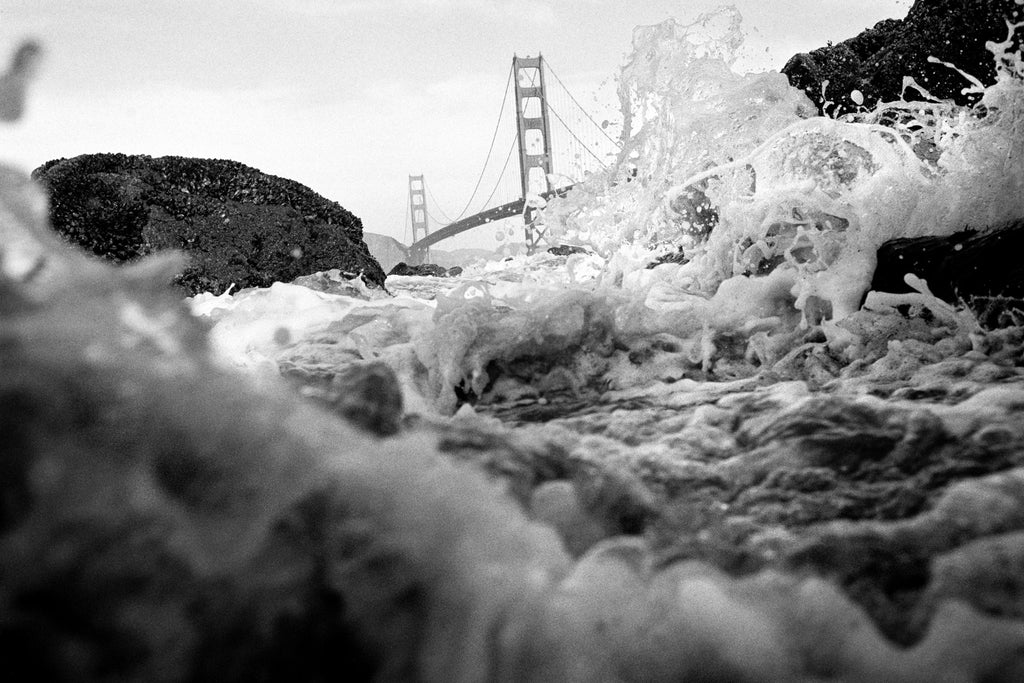 Pacific Wave and Golden Gate Bridge