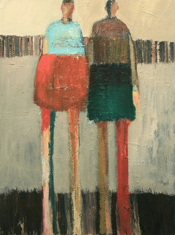 Two Standing Figures #1