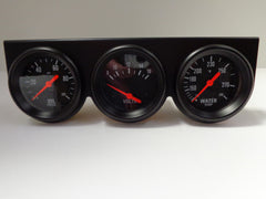 Black Mechanical Complete Triple Gauge Kit