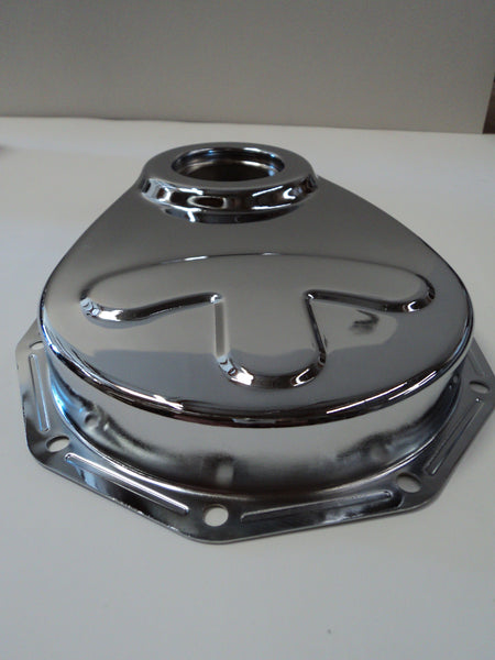 Chevy 235 Chrome Timing Cover Hot Rod Parts Supply