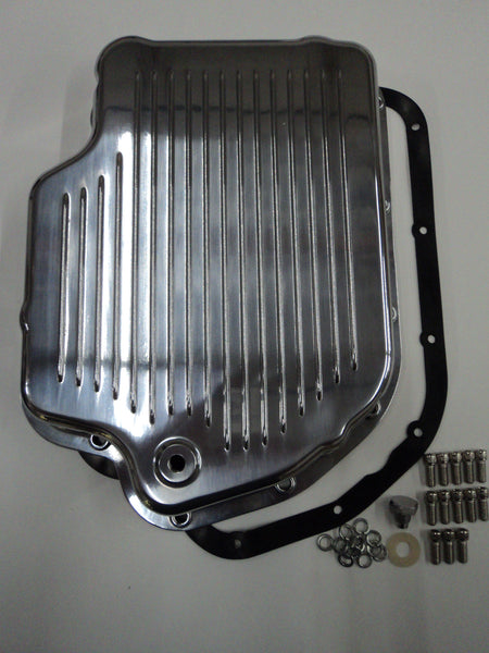 TH-400 Polished Aluminum Transmission Pan