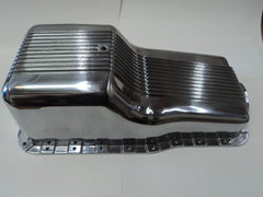 SB Ford Polished Aluminum Oil Pan