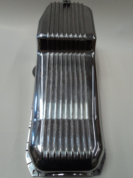 SB Chevy Polished Aluminum Oil Pan Pre-79