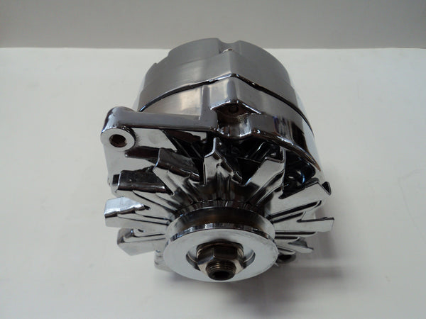 GM 100 Amp Chrome Alternator