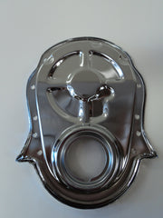 BB Chevy Chrome Timing Cover