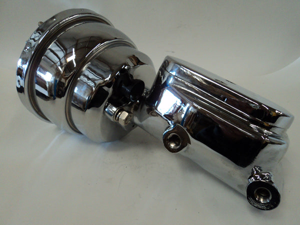 "8"" Chrome Brake Booster With Smooth Master Cylinder"