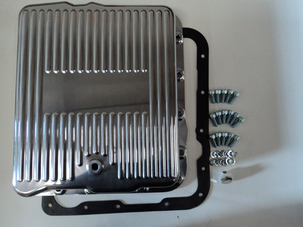 700R4 Polished Aluminum Transmission Pan